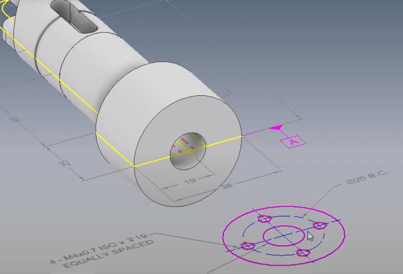 Wykorzystanie rysunku 2D do utworzenia modelu 3D 6