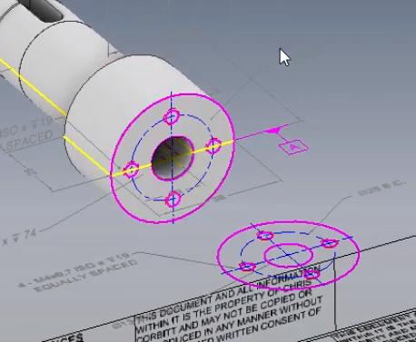 Wykorzystanie rysunku 2D do utworzenia modelu 3D 8