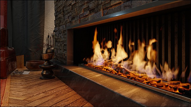 Lumion 11 Fireplace