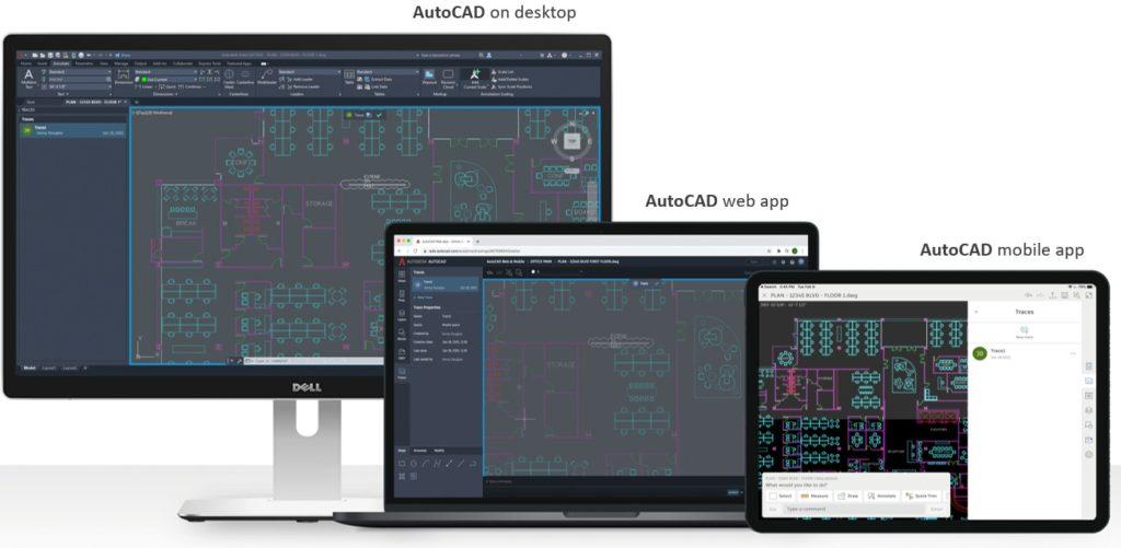 AutoCAD 2022 Trace