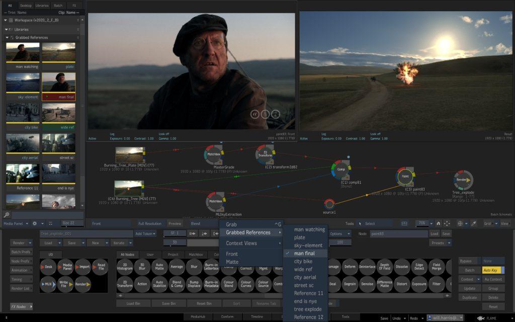 autodesk flame flame-2020.2-compare-batch