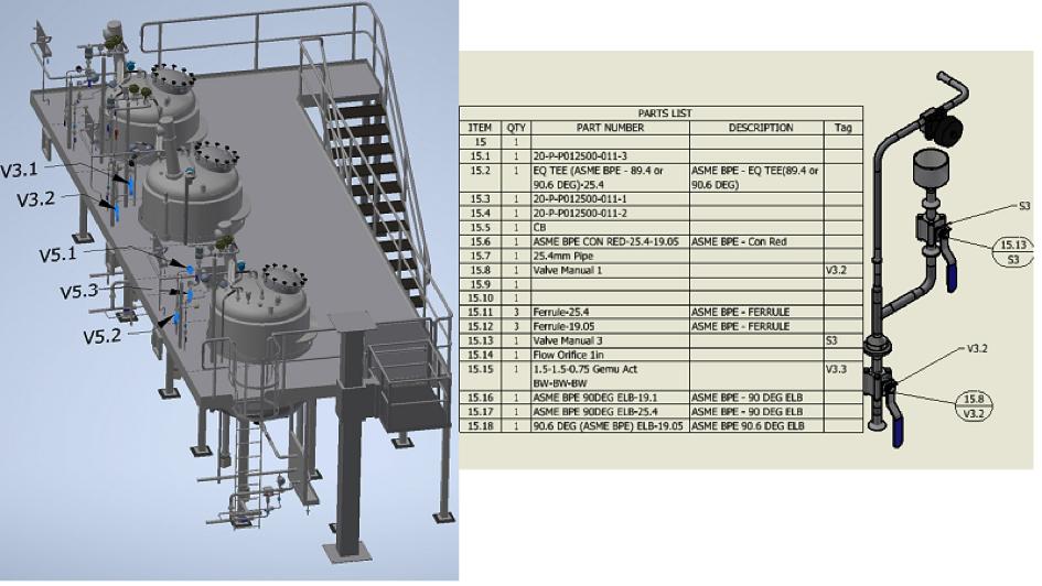 Inventor 2022 16 4. Właściwości elementów rurociągów