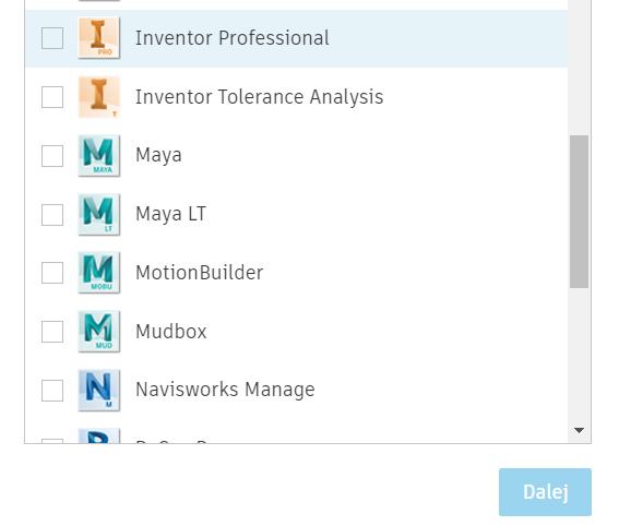Instalacja niestandardowa licencji Autodesk - Inventor