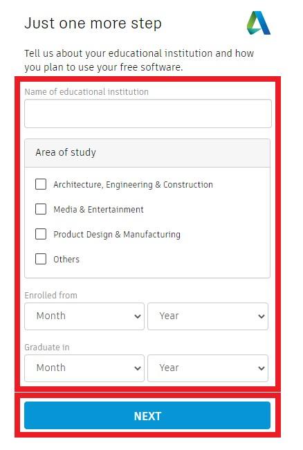 Licencja studencka Autodesk jak ją pobrać, zainstalować i odnowić 6
