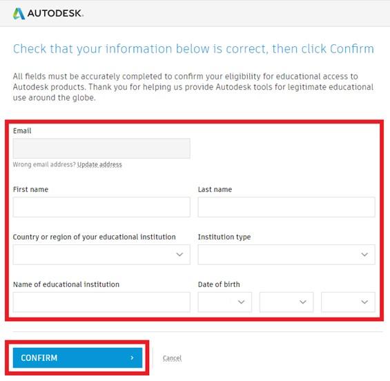 Licencja studencka Autodesk jak ją pobrać, zainstalować i odnowić 7
