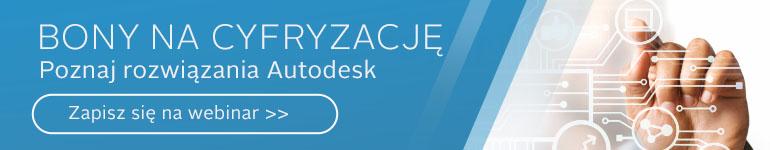 bony na cyfryzcję - programy Autodesk